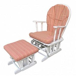 ghế thư giãn bằng gỗ màu trắng