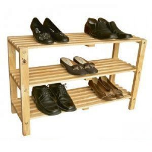 kệ giầy 3 tầng bằng gỗ