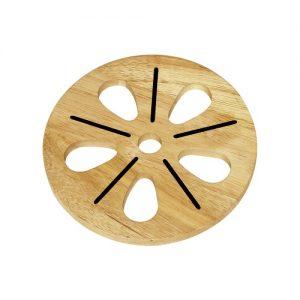 rế gỗ hình hoa
