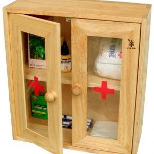 Tủ thuốc gia đình bằng gỗ