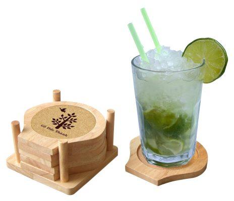 đế lót ly bằng gỗ