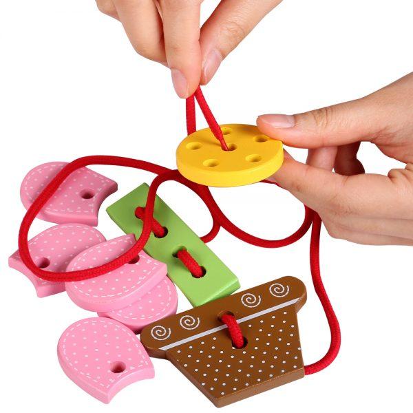 đồ chơi xỏ dây 3d