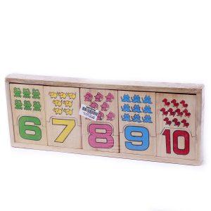 bảng ghép số học đếm tìm cặp phù hợp