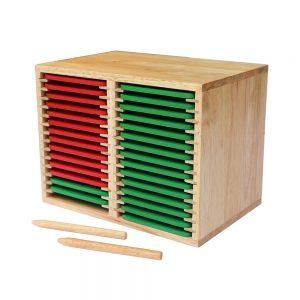 bộ luyện viết chữ bằng gỗ