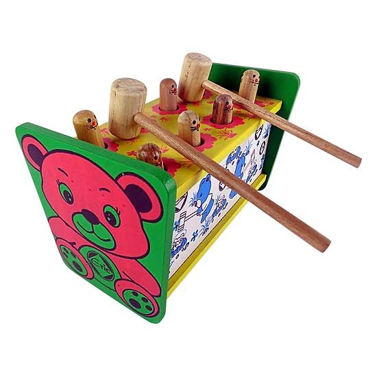 đồ chơi gỗ búa đập chuột
