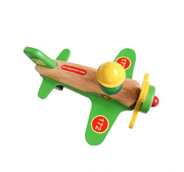 máy bay đồ chơi gỗ cho bé