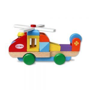 máy bay lắp ráp đồ chơi bằng gỗ