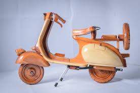 đồ chơi gỗ xe vespa