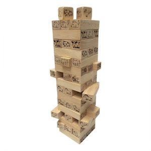 Trò chơi rút gỗ, rút tháp 12 con giáp
