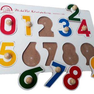 Tranh nhận dạng có núm bảng chữ số