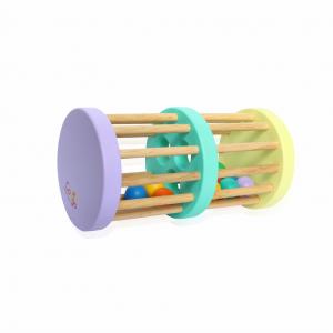 Đồ chơi trống lắc bi 2 tầng bằng gỗ