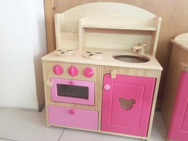 Đồ chơi gỗ đồ chơi nấu ăn bếp lớn