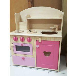 đồ chơi nấu ăn bộ bếp gỗ lớn