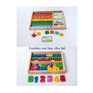 đồ chơi giáo dục học chữ và học toán