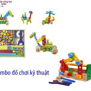 đồ chơi kỹ thuật lắp ráp sáng tạo
