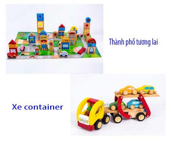 đồ chơi vận động nhập vai cho bé