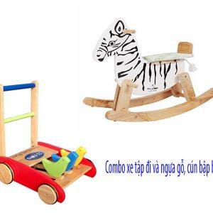 combo đồ chơi vận động cho bé