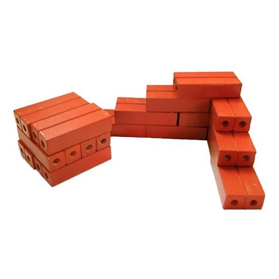 Gạch gỗ xây dựng mầm non cho bé