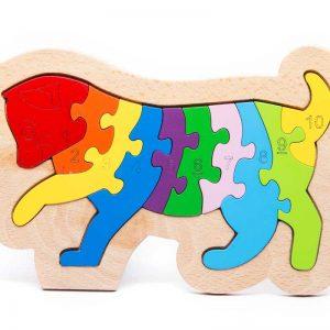 Tranh ghép hình puzzle animal mèo con