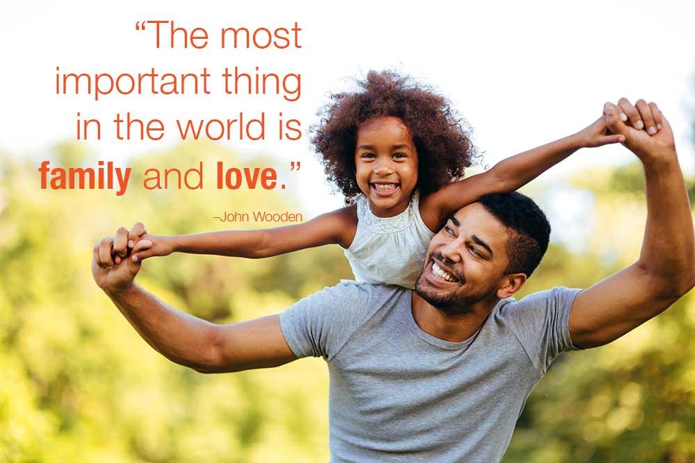 sự tương quan trong gia đình với trẻ