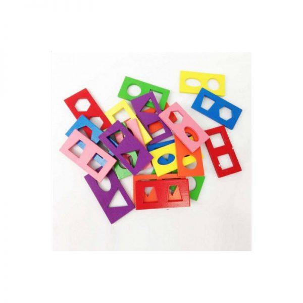 Đồ chơi domino hình học