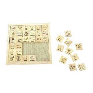 36 ô chữ kì diệu đồ chơi gỗ