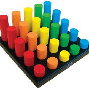 Bảng phân loại cao thấp đồ chơi