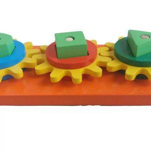 Bánh răng chuyển động đồ chơi gỗ