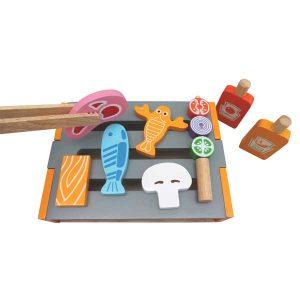 Bếp nướng đồ chơi gỗ