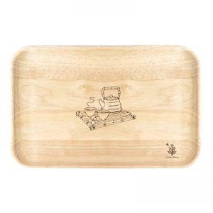 Đĩa gỗ chữ nhật