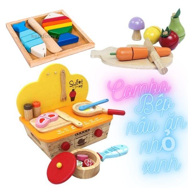 Combo đồ chơi nấu ăn