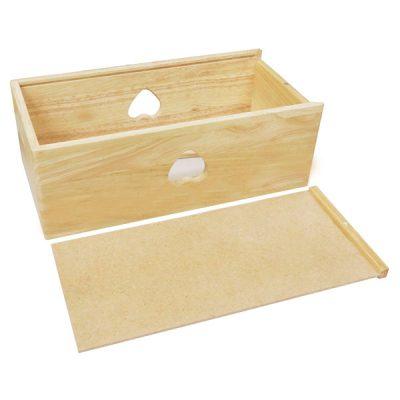 Hộp đựng khăn giấy bằng gỗ