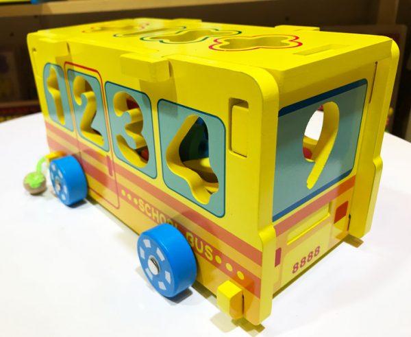 Xe bus thả số lắp ráp thông minh