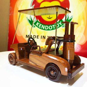 Xe golf bằng gỗ