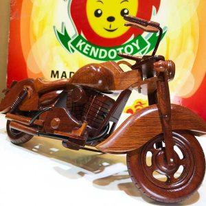 Xe đua mô tô gỗ mỹ nghệ