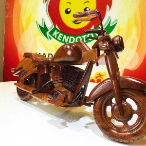 Mô hình xe mô tô gỗ mỹ nghệ