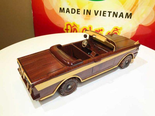 Xe hơi mui trần gỗ mỹ nghệ