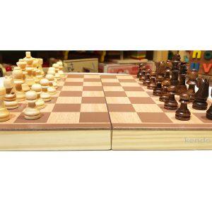 Bộ cờ vua đồ chơi gỗ