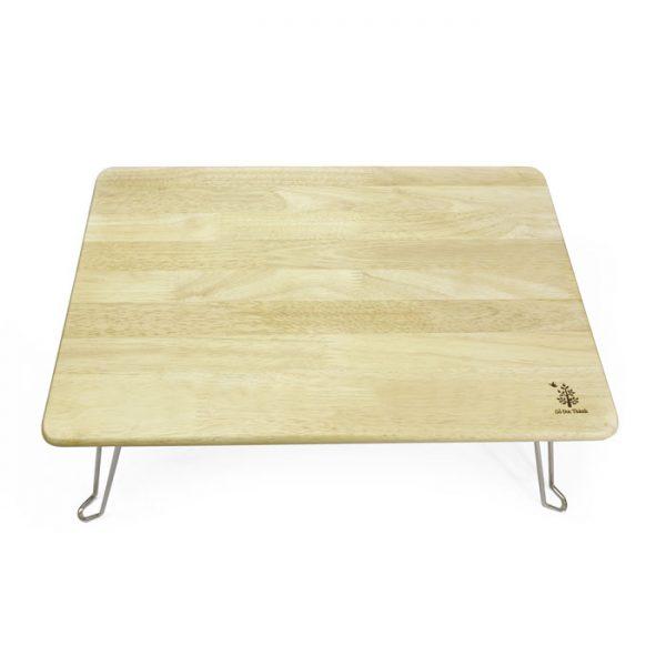 bàn xếp chân sắt gỗ