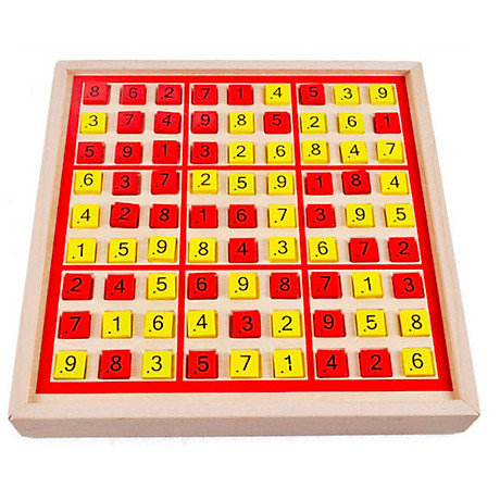 Bộ trò chơi Sudoku và Caro đa năng 2 in 1 bằng gỗ