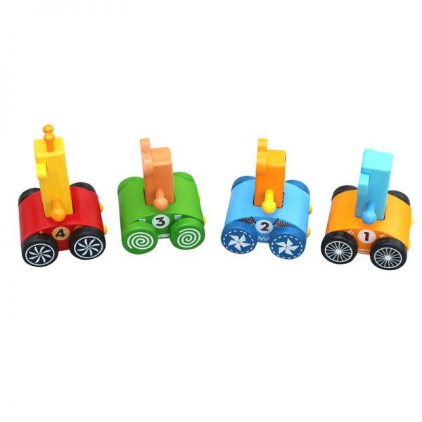 Xe đua rừng xanh 4 thú