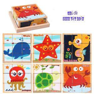 xếp hình 9 khối lập phương- Block puzzle