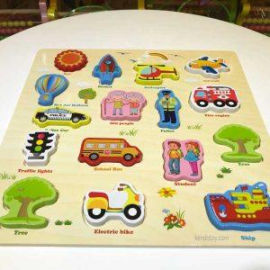 Bảng học các loại phương tiện giao thông